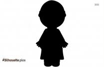 Little Boy Clip Art Silhouette