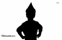 Girls Tutu Costume Dress Silhouette