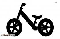 Kids Balance Bike Silhouette