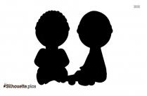Kids Silhouette Picture