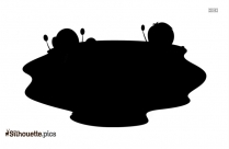 Toddler Girl Silhouette Drawing
