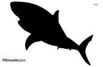 Bull Shark Logo Silhouette For Download, Shark Vector