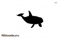 Sperm Whale Silhouette