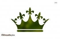 King Clipart || Cartoon Crown Silhouette