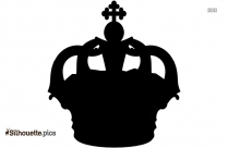 King Crown Silhouette Image And Vector