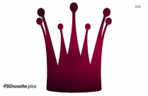 King Crown Silhouette Vector And Graphics