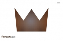 King Crown Stencil Silhouette