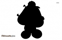 Goomba Super Maria Silhouette