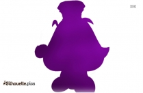 King Goomba Clipart Silhouette