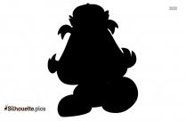 King Goomba Silhouette