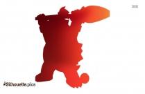 Mario Shy Guy Silhouette Clip Art