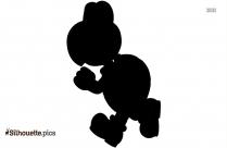 King Koopa Silhouette