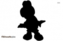 King Koopa Toys Silhouette Art