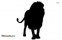 Cartoon Lion Silhouette Clipart Free Download