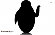 Penguin Walking Silhouette