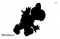 Mario Lakitu Silhouette Image