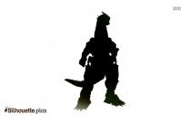 Kiryu Godzilla Clipart Silhouette