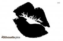 Kiss Lips Silhouette