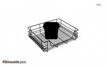 Kitchen Basket Silhouette Image