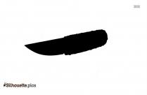 Kitchen Knife Silhouette Illustration