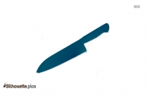Kitchen Knife Silhouette Clipart