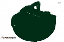 Coffee Pot Silhouette Image