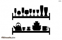 Cooking Pan Silhouette Image And Vector