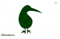 Little Seagull Clip Art Silhouette