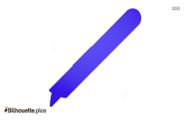 Slice Pen Cutter Silhouette