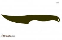 Pocketknife Silhouette Drawing