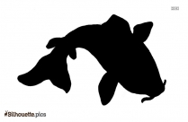 Cartoon Fish Silhouette Vector Graphics