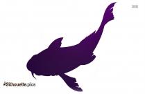 Cod Fish Silhouette Illustration