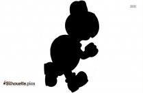 Cartoon Super Mario Silhouette Image