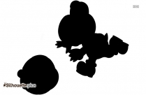 Mario Shy Guy Silhouette Free Vector Art