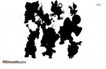 Koopalings Silhouette Vector Art