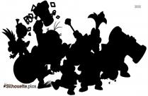Mario Odyssey Silhouette Icon
