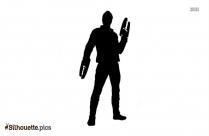 Kraglin Character Silhouette Illustration