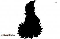 Krishna Cartoon Clipart | Janmashtami Greetings Silhouette