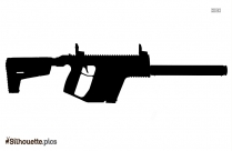 Kriss Rifle Silhouette Art