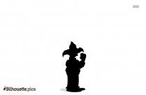 Mr Potato Man Silhouette Image