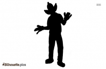 Krusty The Clown Silhouette Background
