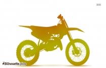 Ktm Motorcyle Silhouette Clip Art