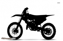 Motorcycle Riding Silhouette Drawing