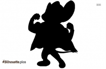 Mewtwo In Super Smash Bros Silhouette
