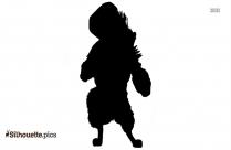 Wolf Boss Silhouette Kung Fu Panda