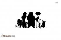 Peter Pan Moon Silhouette