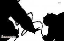 Cartoon Donkey Silhouette Clip Art