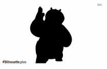 Kung Fu Panda Legends Of Awesomeness Cartoon Silhouette
