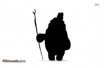 Kung Fu Panda Master Oogway Silhouette