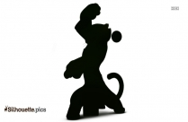 Kung Fu Panda Master Rhino Silhouette